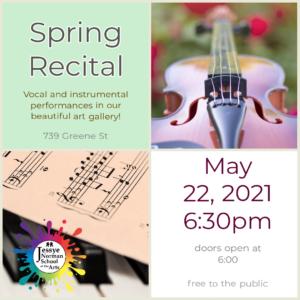 JNSA Spring Recital