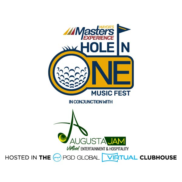 hole in one music festival poster