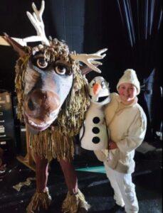 frozen musical actors
