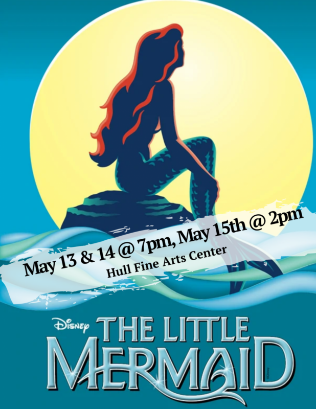 little mermaid show poster
