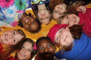 kids in a circle