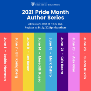 2021 pride month author series names