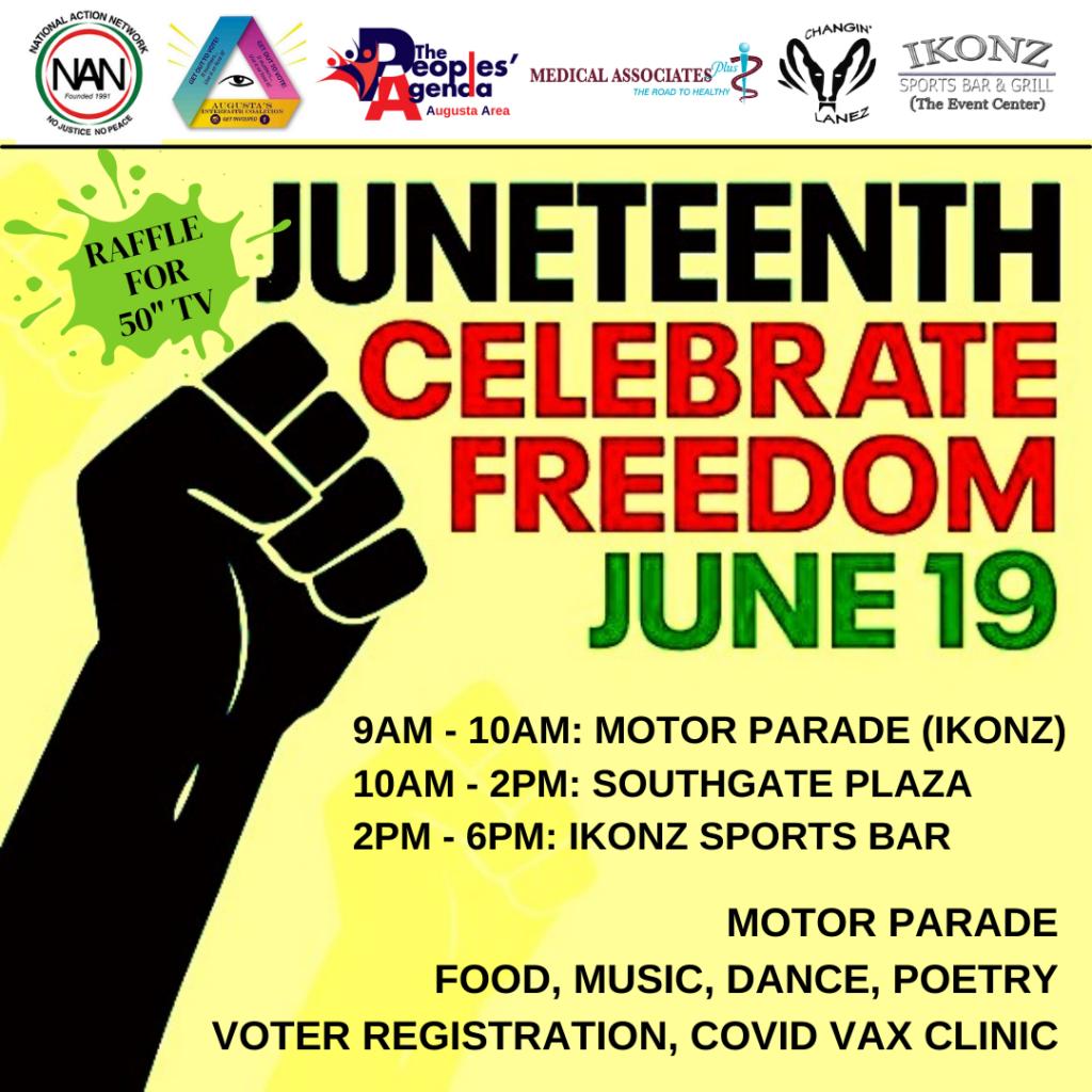 decorative event flyer