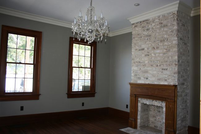 renovated historic details include original and recreated moldings and window frames