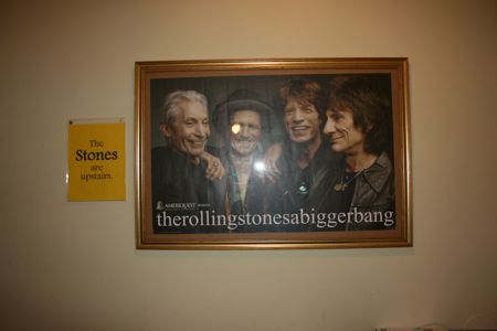 The Stones are upstairs at Beads on Cannon, Charleston Sc