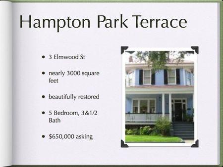 3 Elmwood St, Hampton Park Terrace Downtown Charleston sc