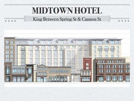 New Hotel wins BAR approval built in the new downtown charleston commercial corridor