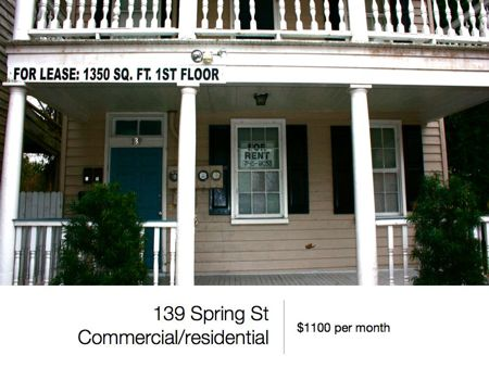 Commercial Downtown Spaces for Lease and Sale