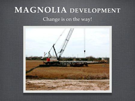 Magnolia Development pushes forward with bridge to Wagener Terrace