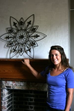 Abigail McClam at her massage studio One Respe