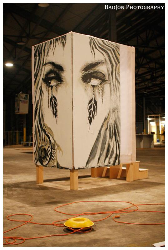 Art installation at Kulture Klash