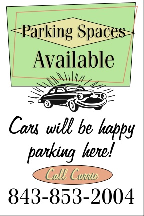 Parking Available Now at 216 Rutledge Avenue