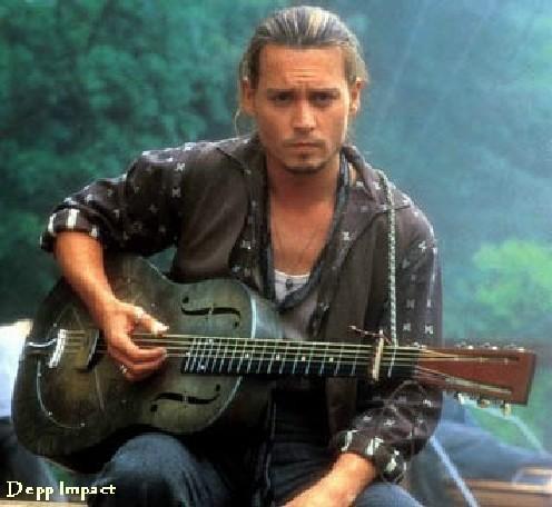 Johnny Depp in Chocolate