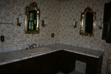 before picture of the master bath