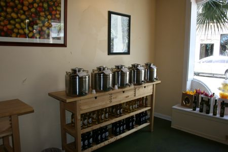 The olive oil shop at 316 King St, Charleston Sc celebrates a one year anniversary