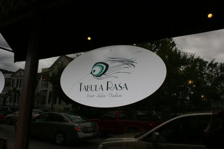 Velvet Salon on Spring St is now Tabula Rasa Elliotborough Charleston Sc