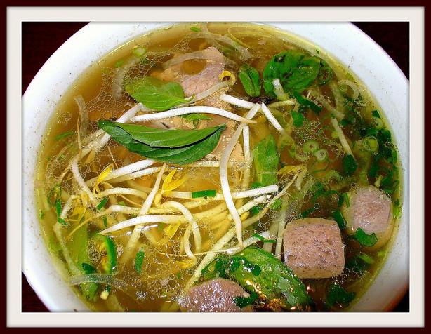 Vietnamese pot soup at Quyen Party Kingdom