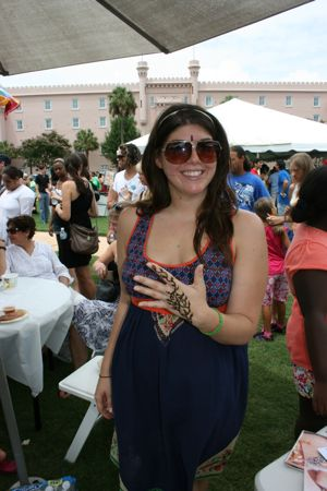 Spectators and participants having a good time last years India Fest at Marion Square in Charleston South Carolina