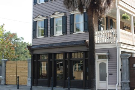 Commercial space at the end on bogard on Saint Philip St.  in downtown Charleston Sc