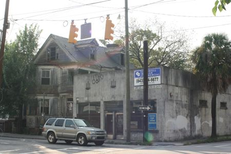 For Sale or Lease Corner Commercial building on Spring St in downtown Charleston Sc