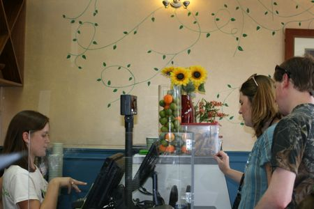 """Black Bean Cafe on Spring St serves up """"healthy"""" salads and wraps in downtown Charleston Sc"""