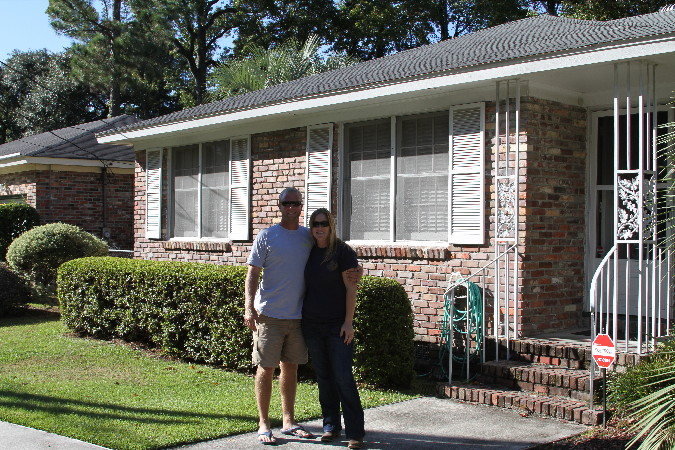 NEW home owners in West Ashley neighborhood in Charleston Sc