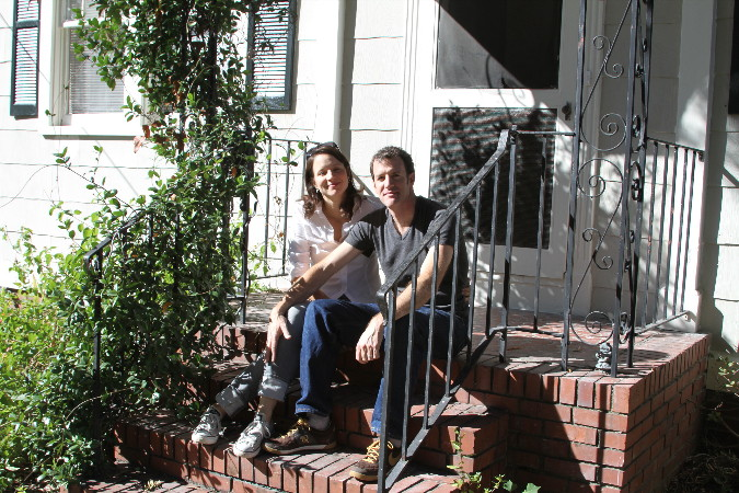 NEW homeowners in downtown Charleston Sc congratulations Lasley and Andrew