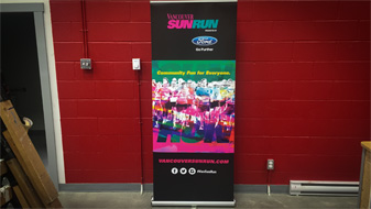 Promotional Signs Rollup Banners