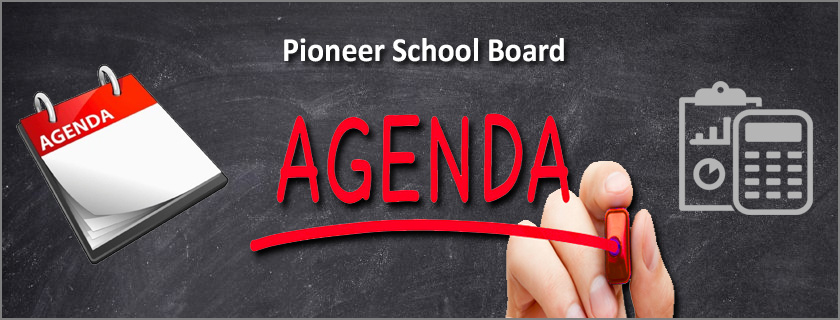 October 1 Board Meeting Agenda