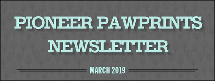 March 2019 PAWPrints Newsletter