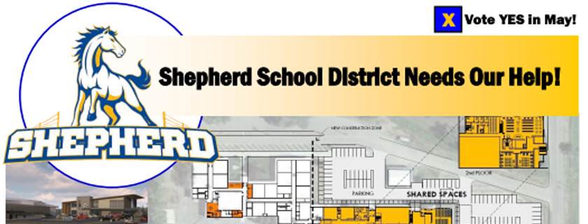 Shepherd High School Bond Information
