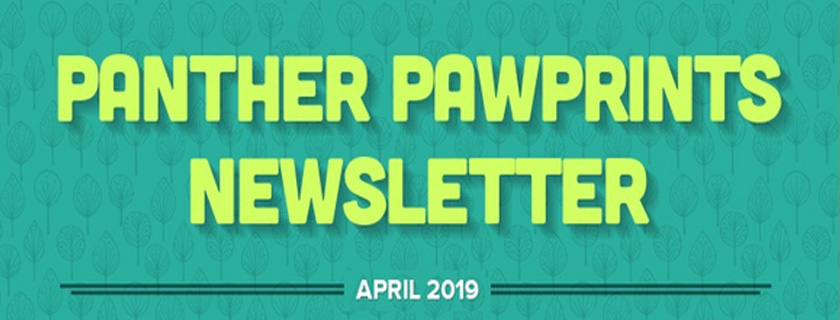 Panther PAWPrints Newsletter April 2019