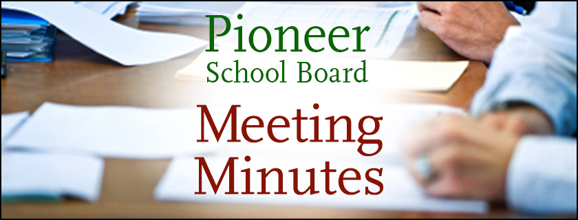 October 7th, 2019 Board Meeting Minutes