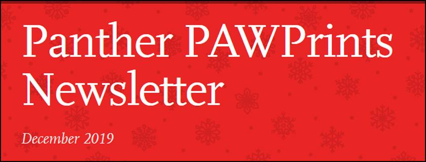 PAW Prints Newsletter December 2019