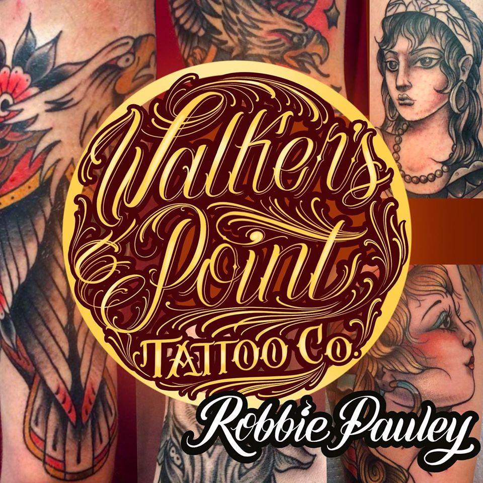Robbie Pauley Tattoos