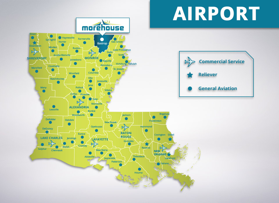 Morehouse Parish Airports