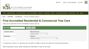 TCIA Accredited Companies
