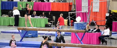 NCAA WOMEN'S GYMNASTICS RETURNS TO KNOXVILLE CONVENTION CENTER