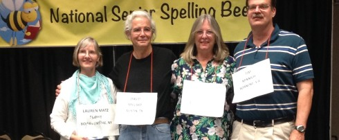 NATIONAL SENIOR SPELLING BEE RETURNS TO KNOXVILLE JULY 18