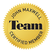 Certified Team Member of John Maxwell