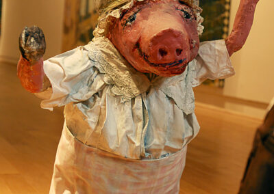 Henrietta: First Abolitionist, 2008, Mixed media sculpture