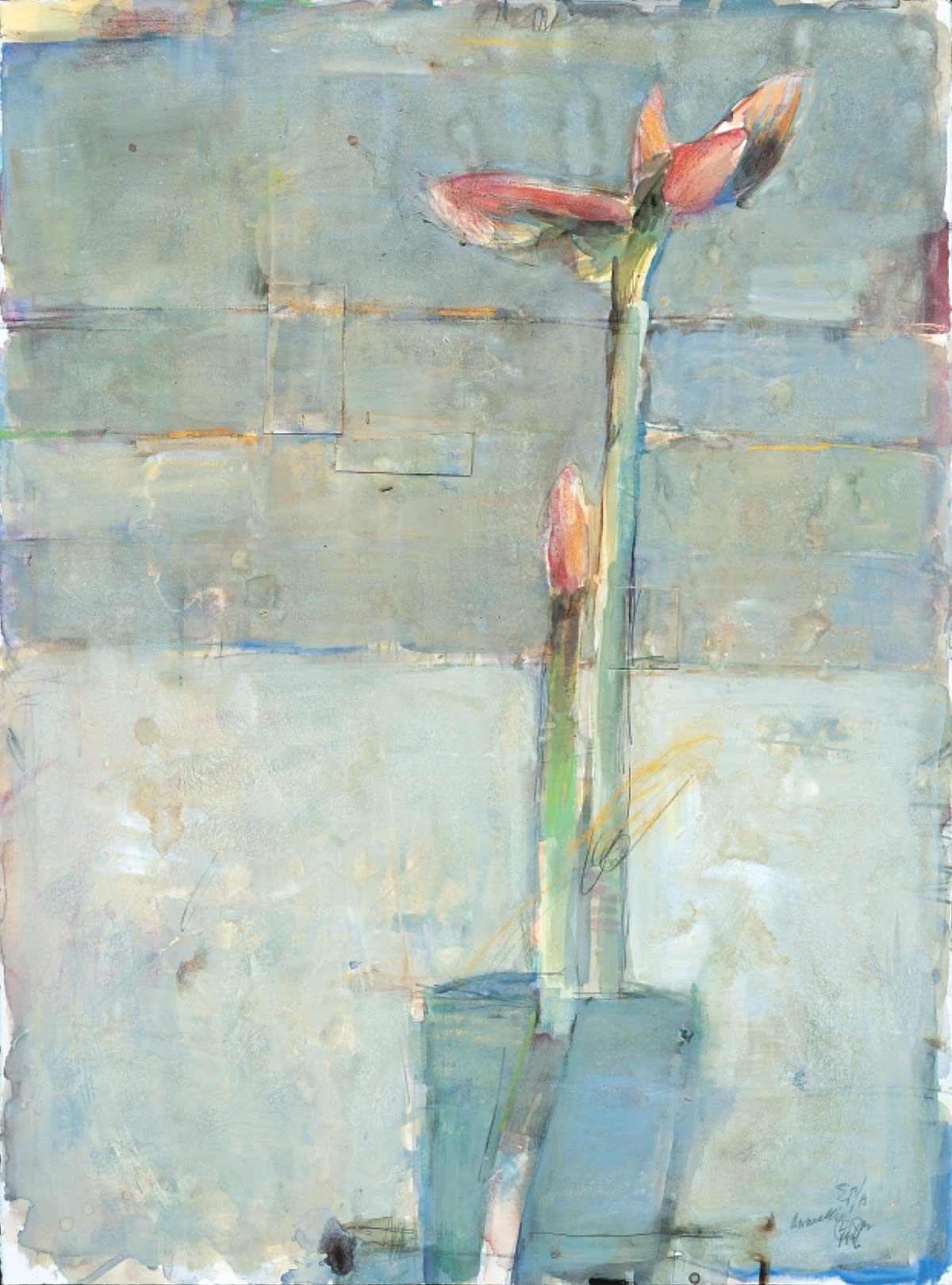 Amarylis #4 by Elaine Badgley Arnoux