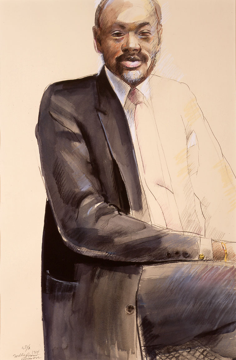 Portrait of San Francisco Mayor, Willie Brown