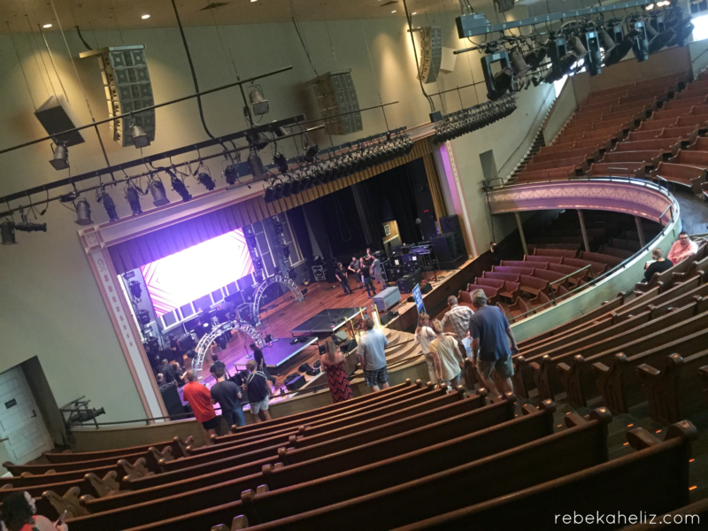 ryman auditorium inside nashville