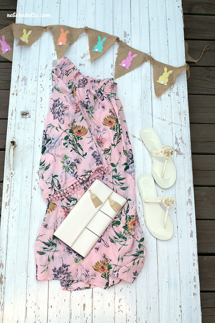 easter dress, spring, spring style, tory burch, tory burch clutch, kendra scott, kendra scott earrings, tory burch sandals