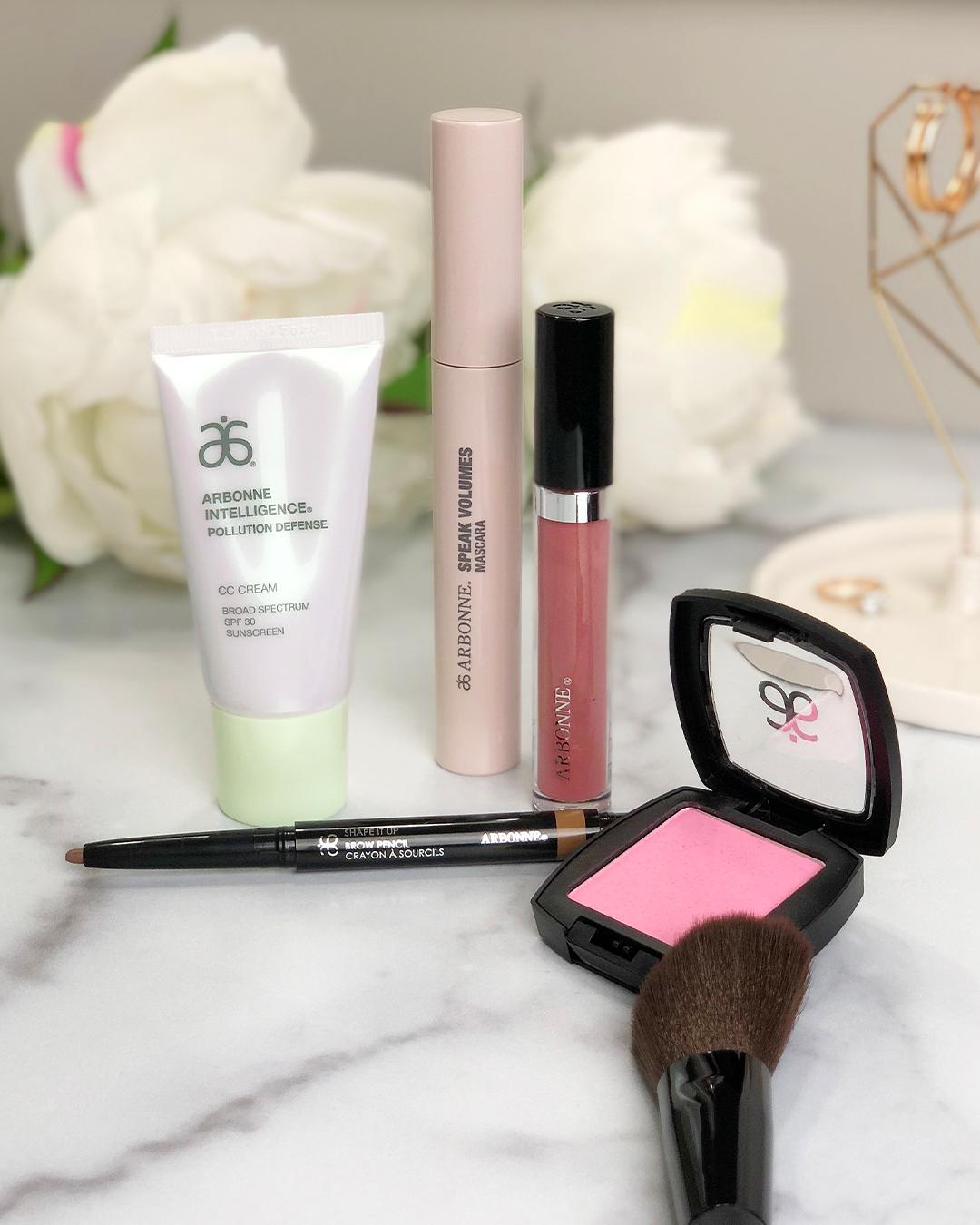 arbonne, Arbonne makeup, ready in five, Arbonne ready in five, makeup