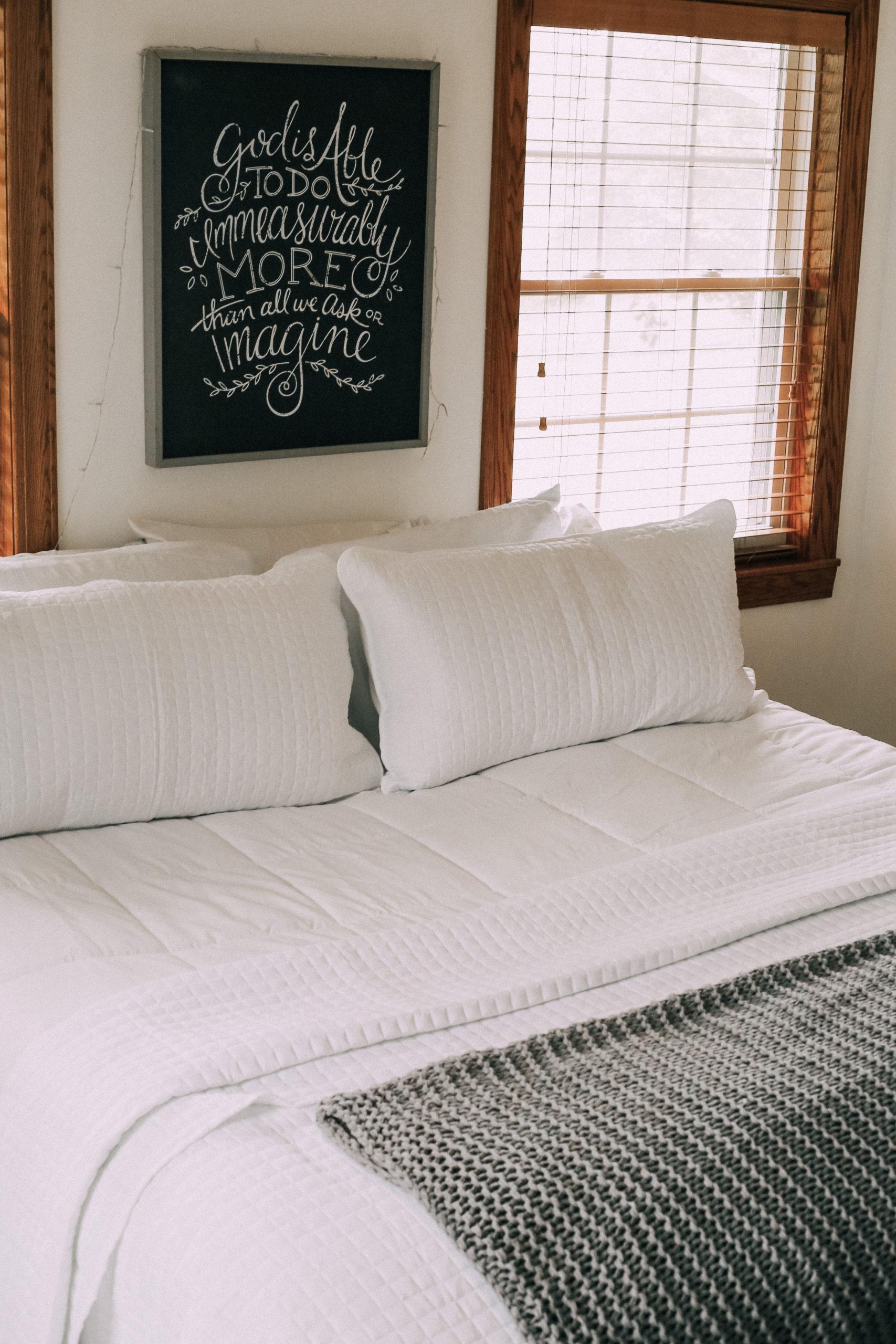 Simple & Affordable Bedroom Decor - Rebekah Elizabeth
