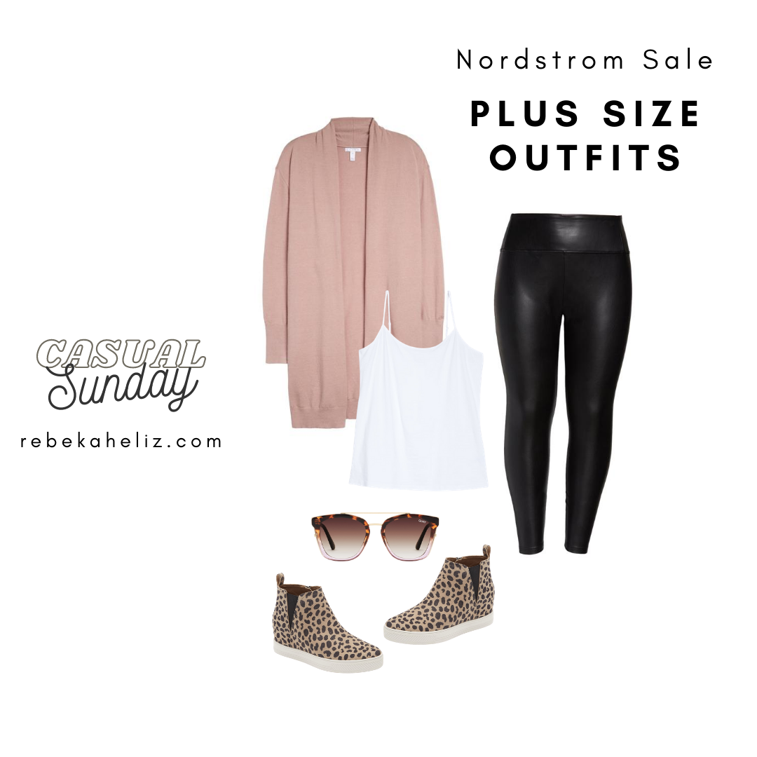 Nordstrom Sale, nsale, leather leggings, plus size outfits