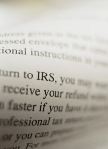 IRS and Corporate Tax