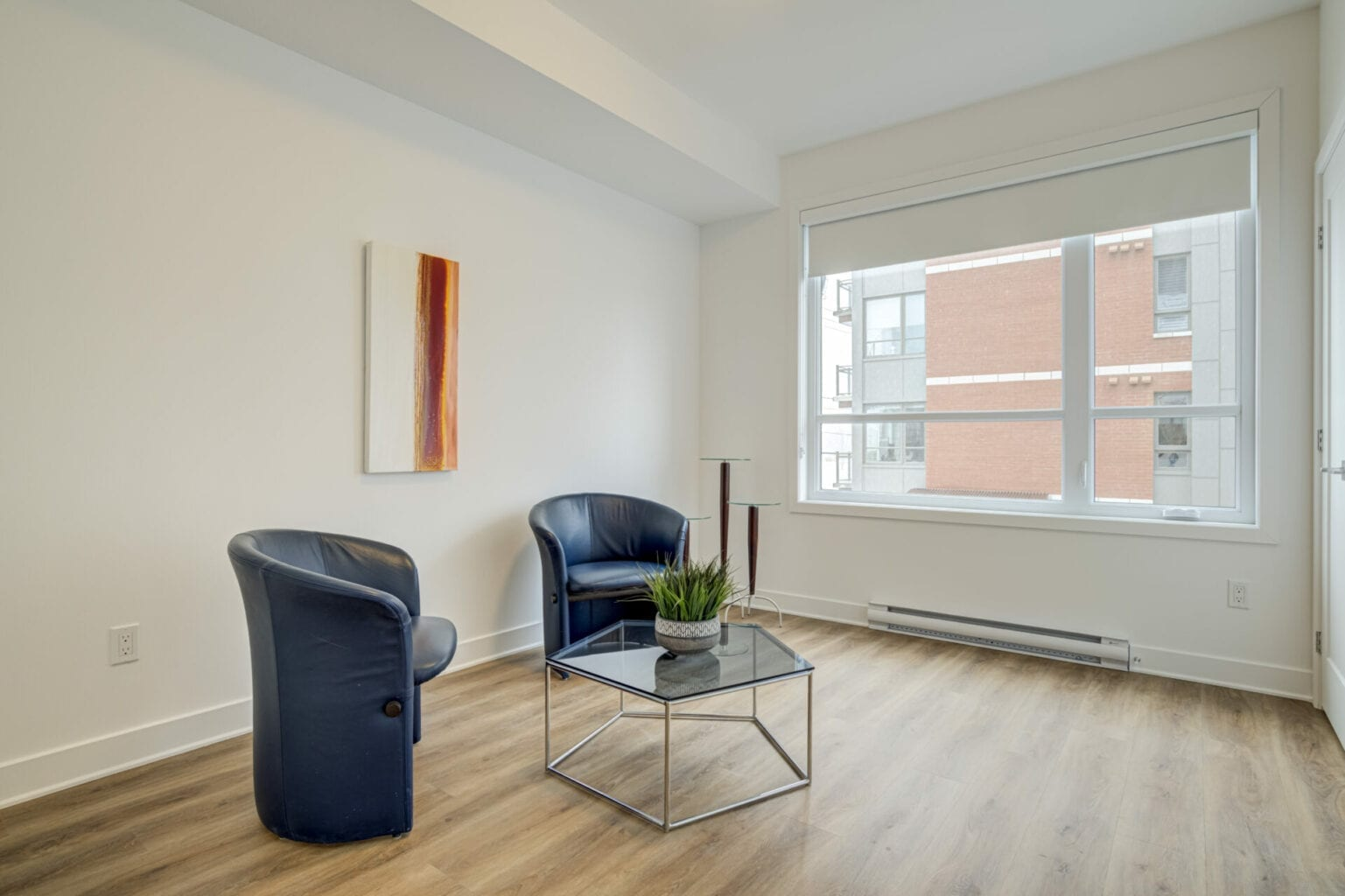 Chambre secondaire appartement 204, Saint-Lambert